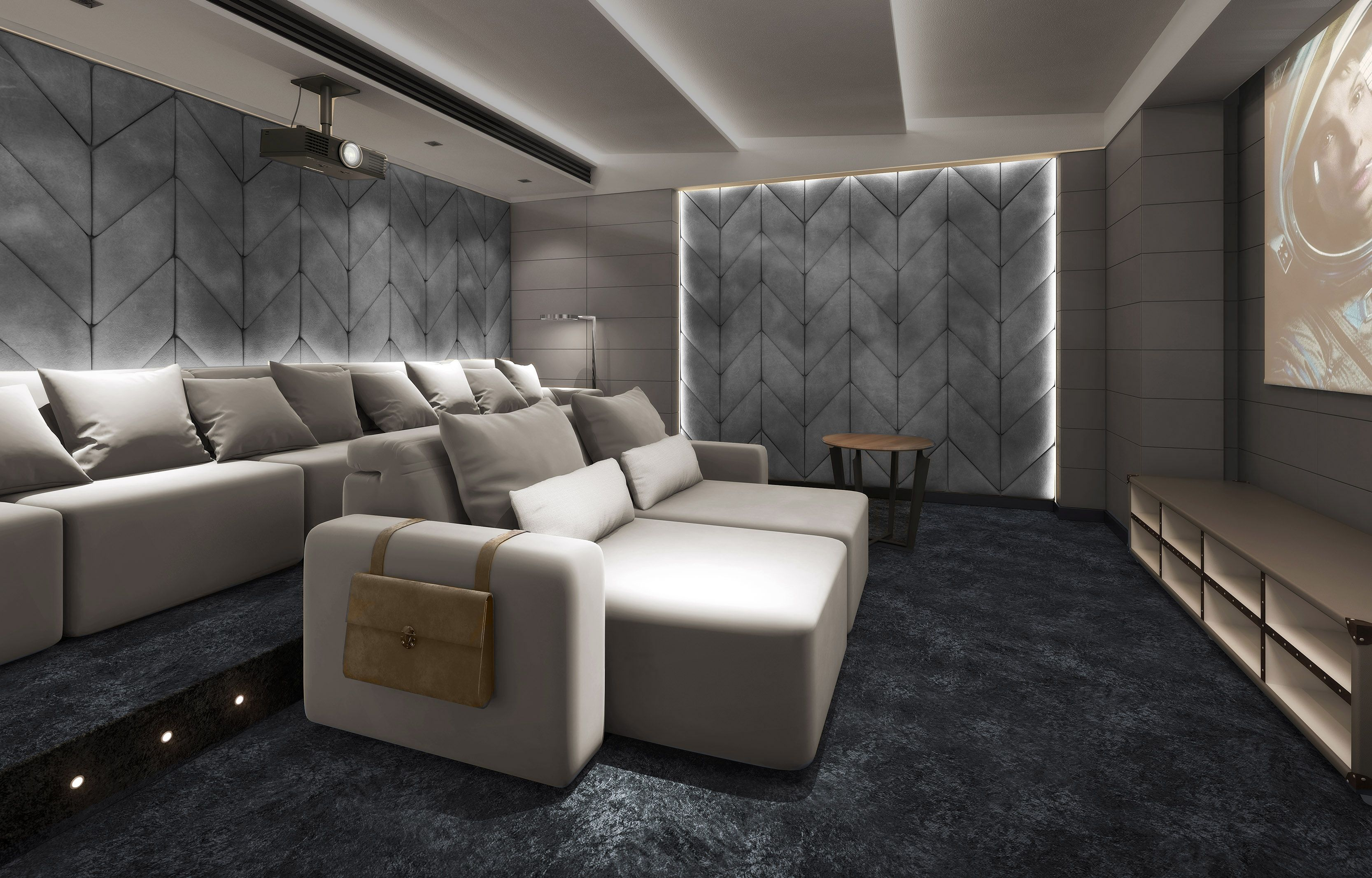 Luxury Cinema Room With Seating That Is Like No Other These Seats Are Recliner Electric Or Manual Head Rests And Feet