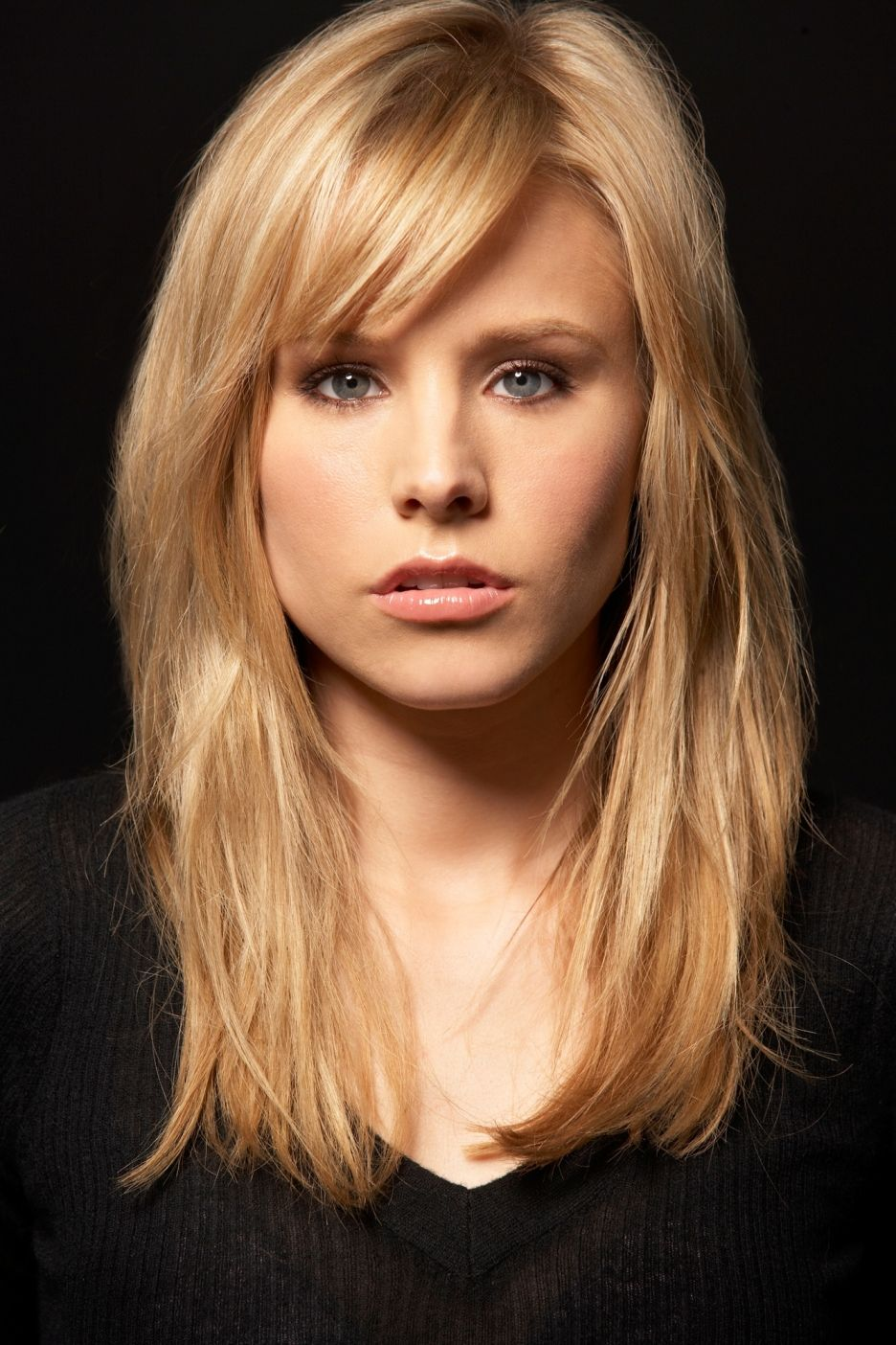 Kristen Bell I Like Her Hair Color And Bangs Dress Me Up