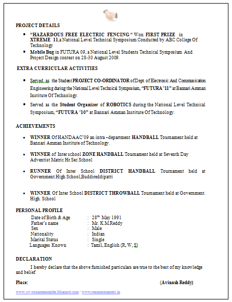 Electrons Engineer Resume Sample 2 Career Pinterest Resume