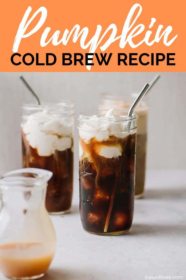 Copycat starbucks pumpkin cream cold brew recipe in 2020