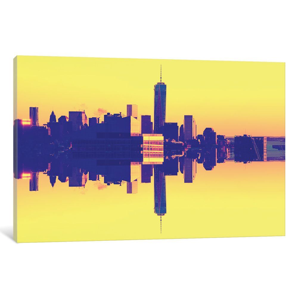 Double Sided - One World Trade Center - Pop Art\' by Philippe ...