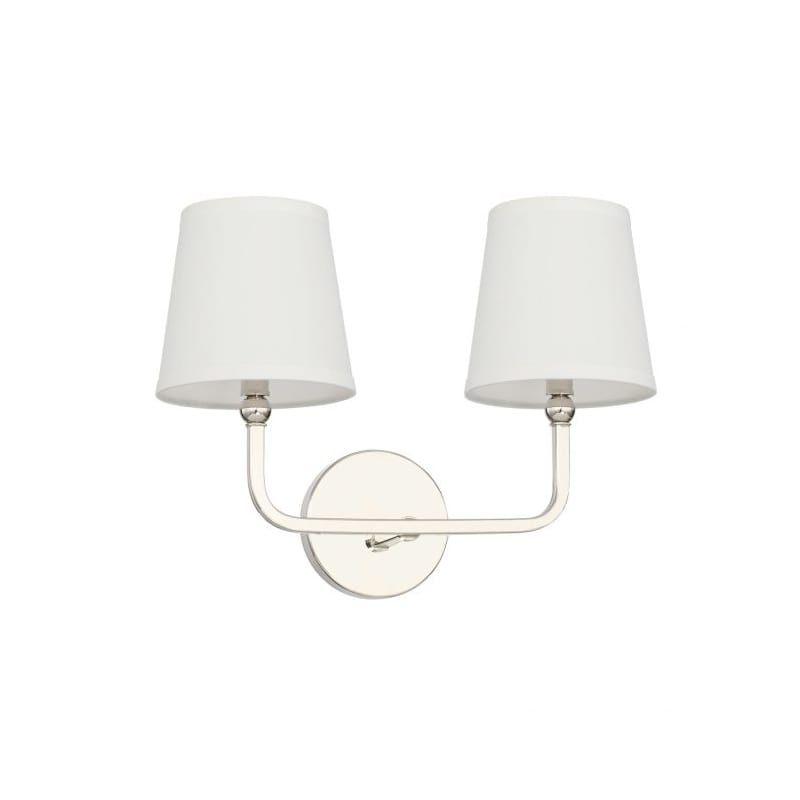 Photo of Capital Lighting 119321AD-674 Aged Brass Dawson 2 Light 16″ Wide Bathroom Vanity Light