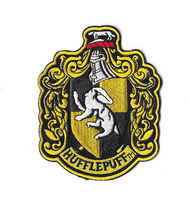 Hufflepuff Crest Iron On Sew On Patch Embroidered Badge Harry Potter Pt359 Gryffindor Crest Embroidered Badges Iron On Embroidered Patches