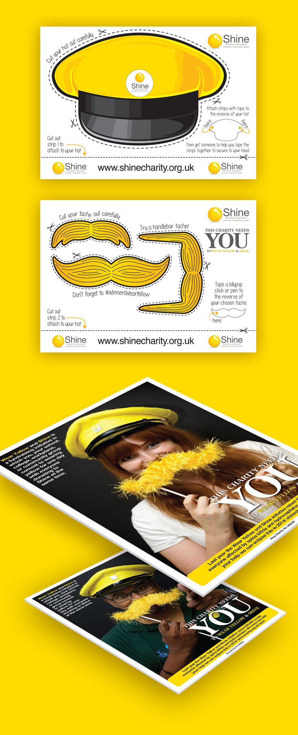 Shine Charity Wear Yellow and Shine campaign