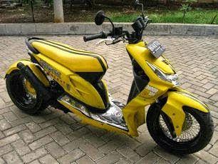 Modifikasi Motor Honda Beat Model Low Rider Spesifikasi Harga