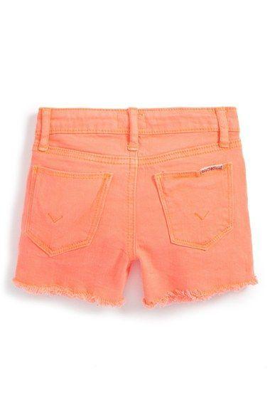 Hudson Kids 'Ava' Ombre Shorts (Baby Girls)