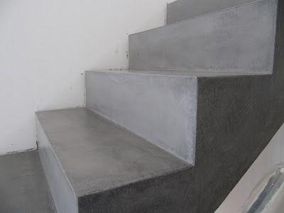 beton unique beton cire beton cire betontreppe vor und nach beschichtung b den pinterest. Black Bedroom Furniture Sets. Home Design Ideas