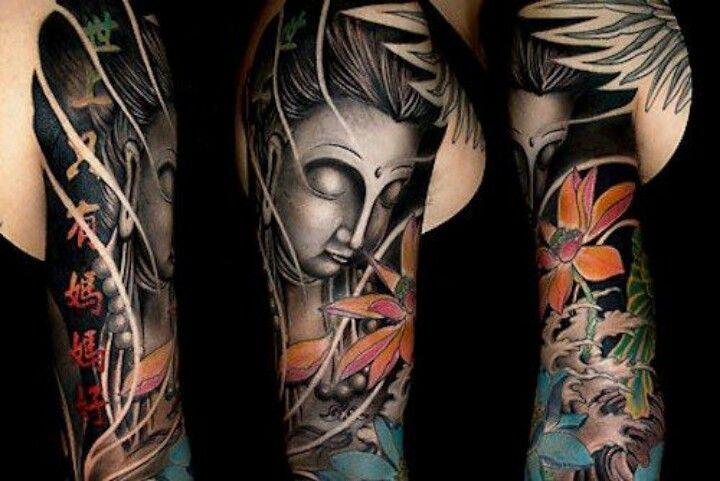 Pin By Dia Esser On Tattoo Ideas Tattoos Picture Tattoos Buddha Tattoo Sleeve