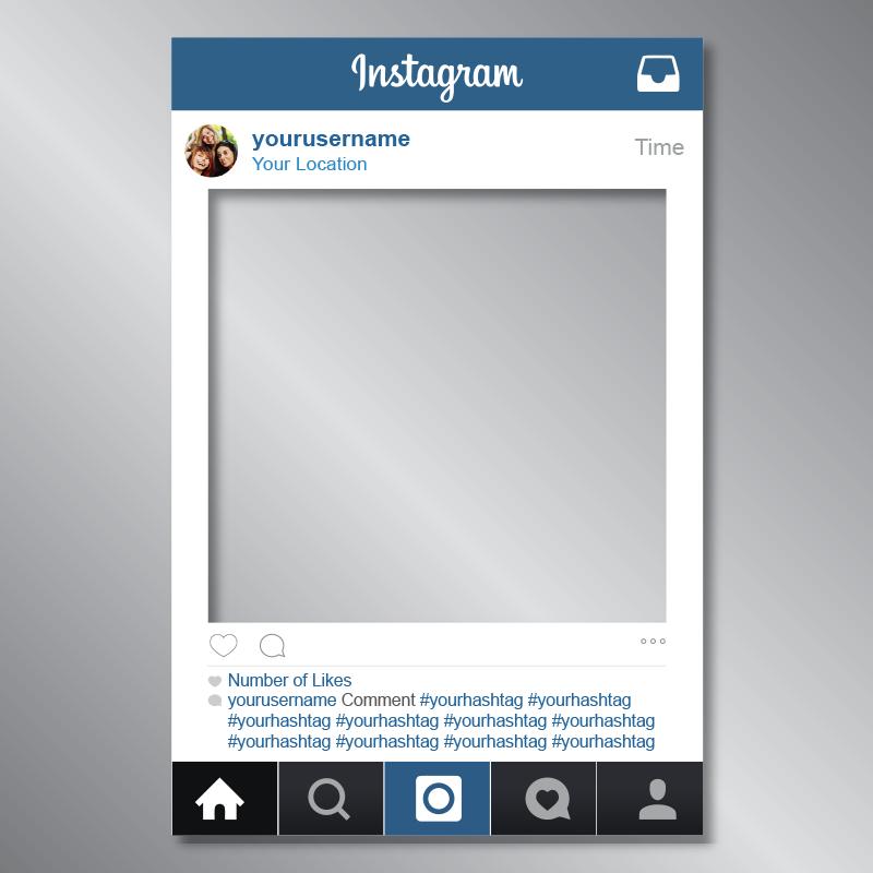 instagram picture frame - 800×800