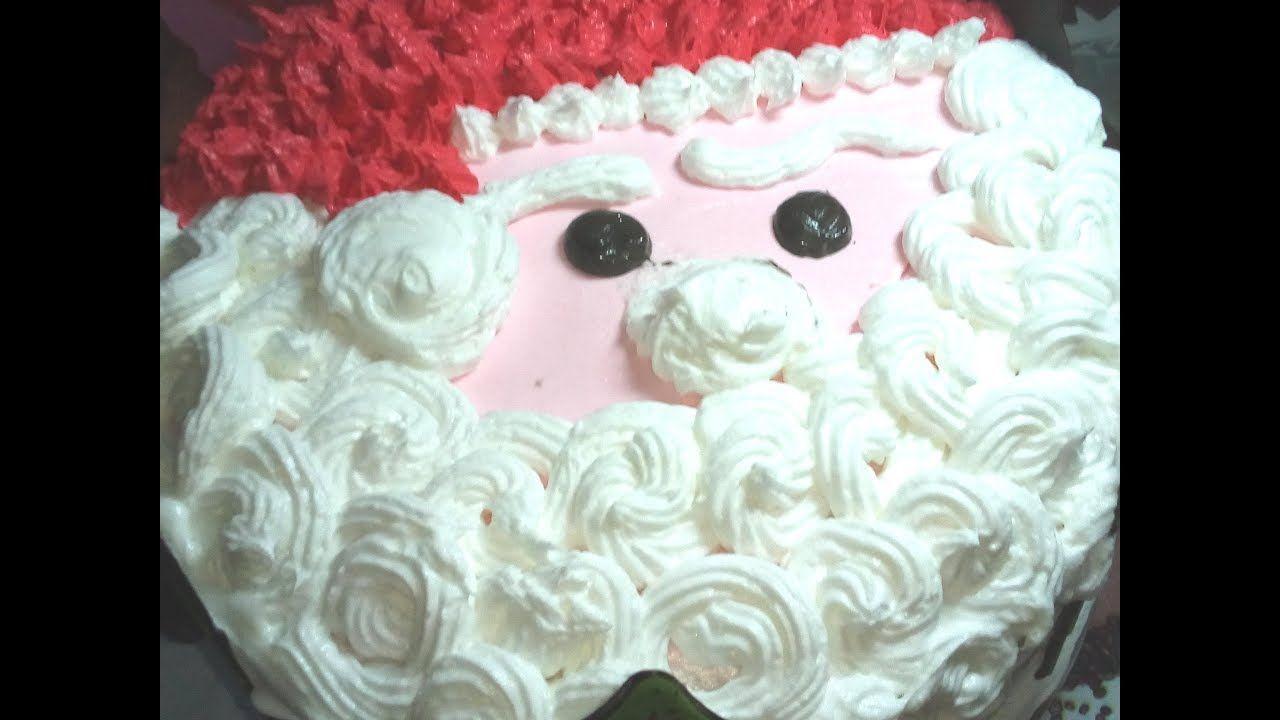 تورتة بابا نويل كيفية تزيين تورته بشكل بابا نويل قناة دلع بيتك مع زوزو Cake Blog Food