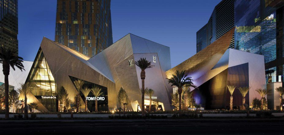 Crystals at City Center in Las Vegas by Daniel Liebskind