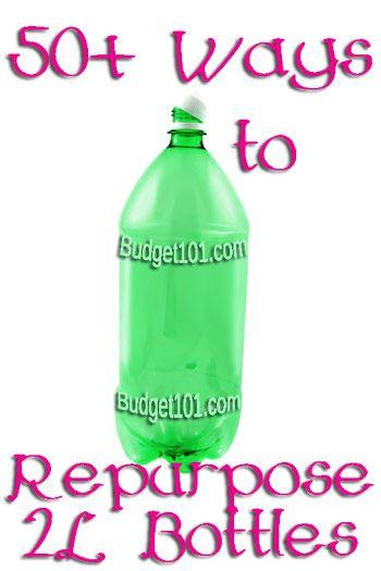 Uses for empty 2-liter bottles?- Tips-n-Tricks   Crafts