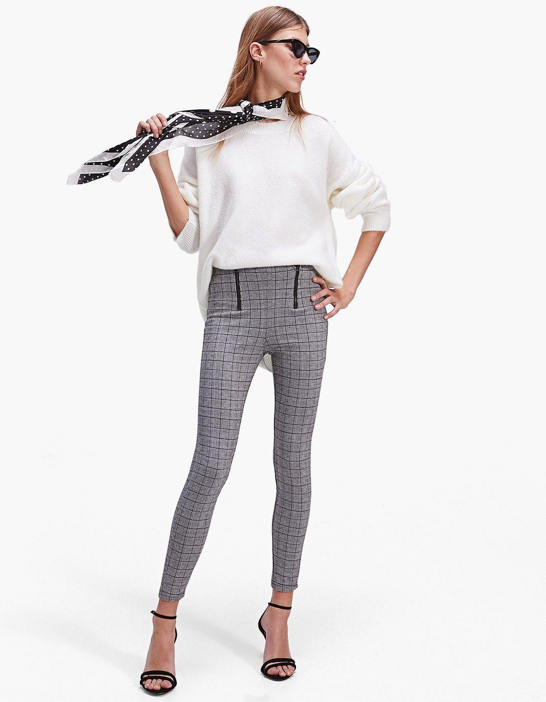 261f8a4da1 Checked leggings - Leggings