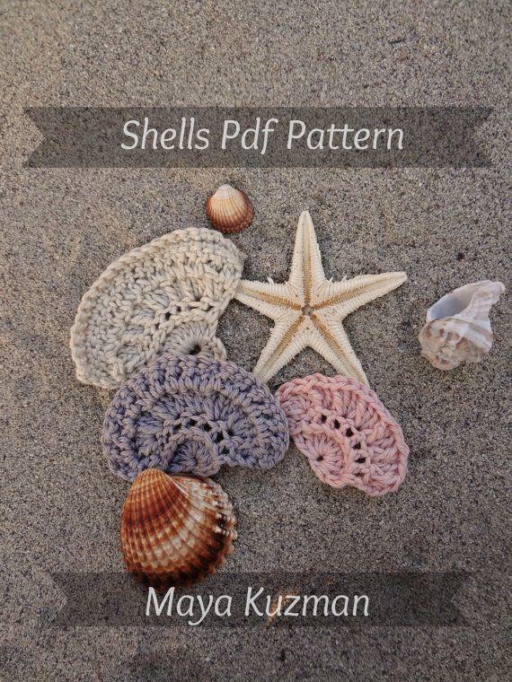 PDF Shell Crochet Patterns - crochet shell pattern, crocheted trims ...
