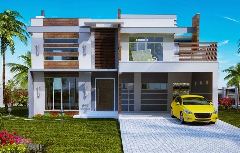 Fachadas de casas de sobrados – veja 50 modelos lindos! - Decor Salteado - Blog…