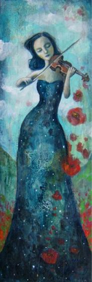 Pretty Paintings by Felicia Olin