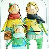 Куклы и игрушки ручной работы. Ярмарка Мастеров - ручная работа Папа, мама, я  - очень теплая семья! Сыночек. Handmade. Dasha Rak