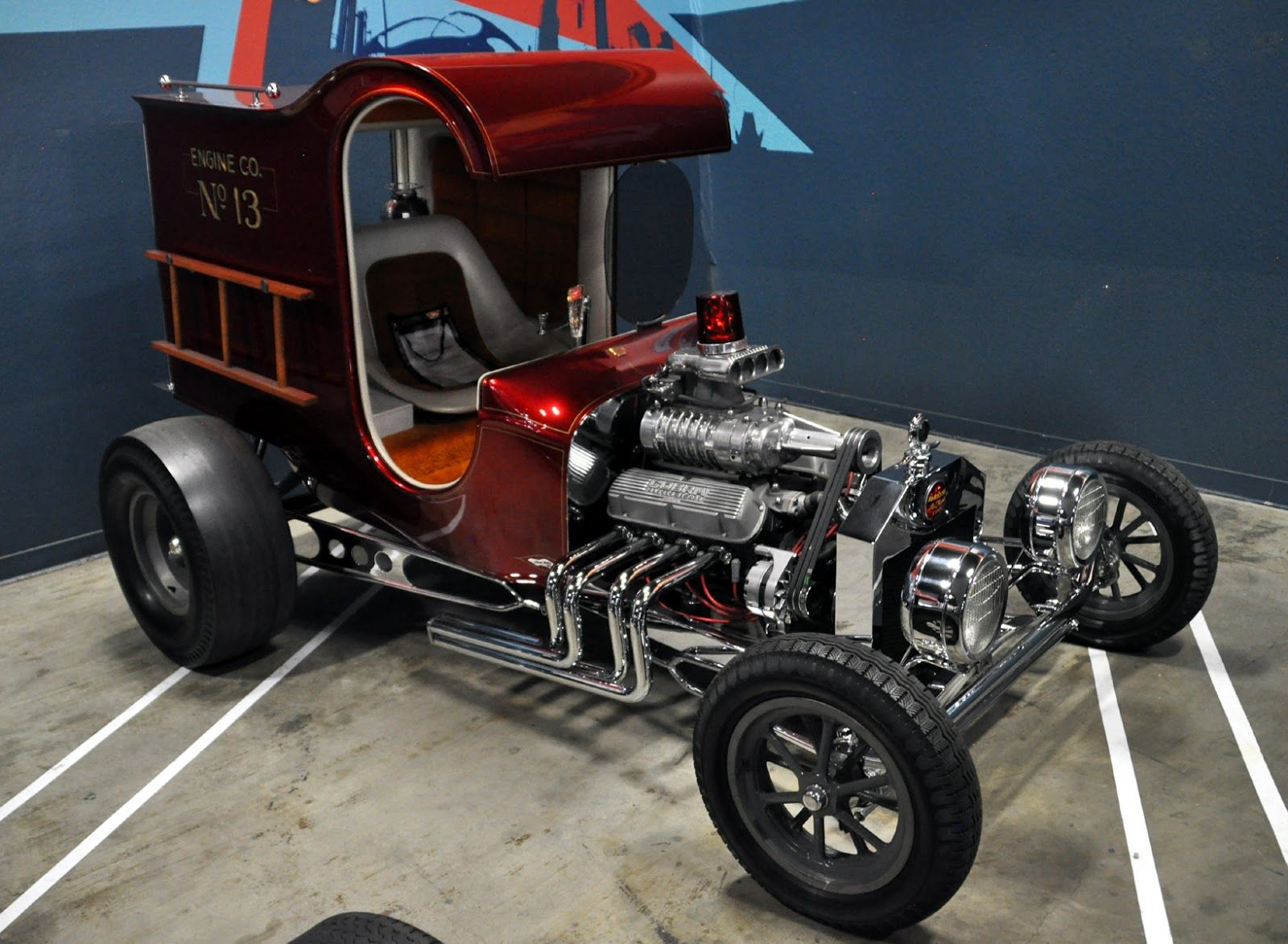 Just a car guy : Galpin\'s cool collection of 60\'s show cars, the ...