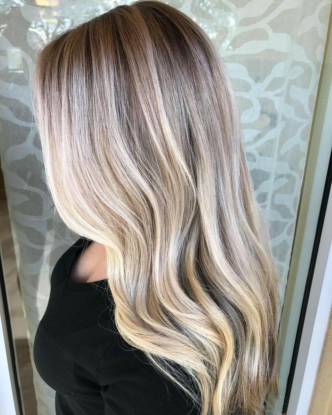 Platinum Hair Painting Hair Platinum Blonde Hair Color Balayage Hair Blonde