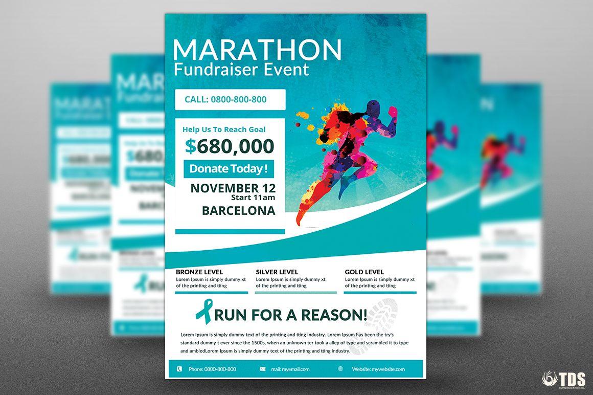 Free Marathon Flyer Template Antaexpocoaching