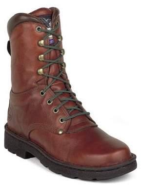 "Georgia Men/'s 8/"" Eagle Light Work Boot Brown G8083"
