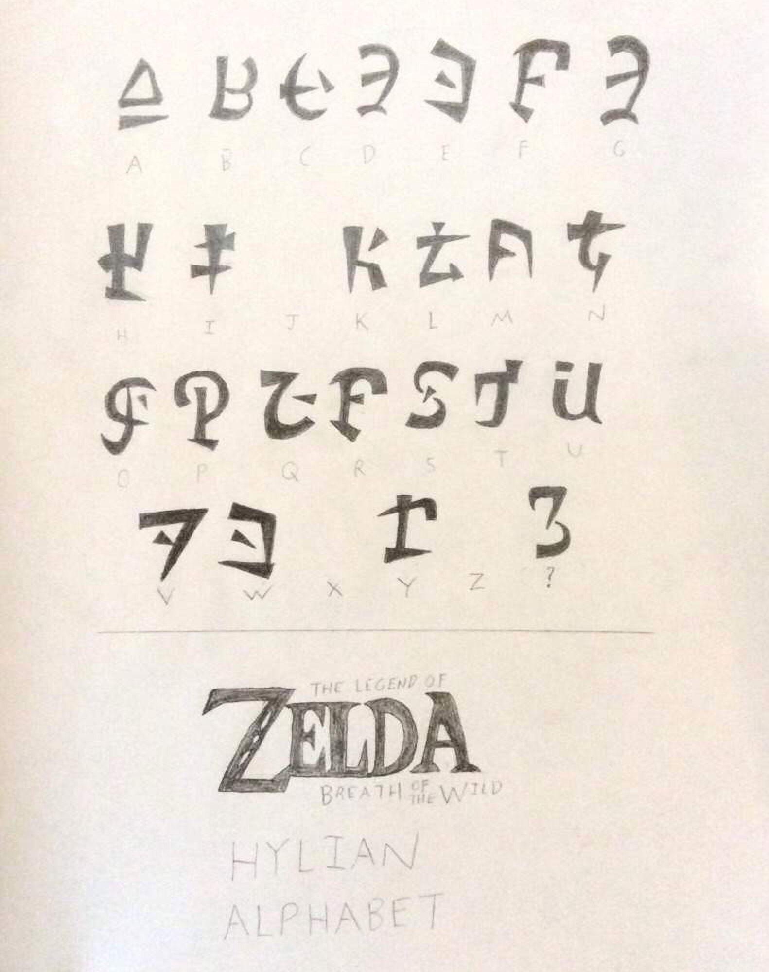 32++ Botw font ideas