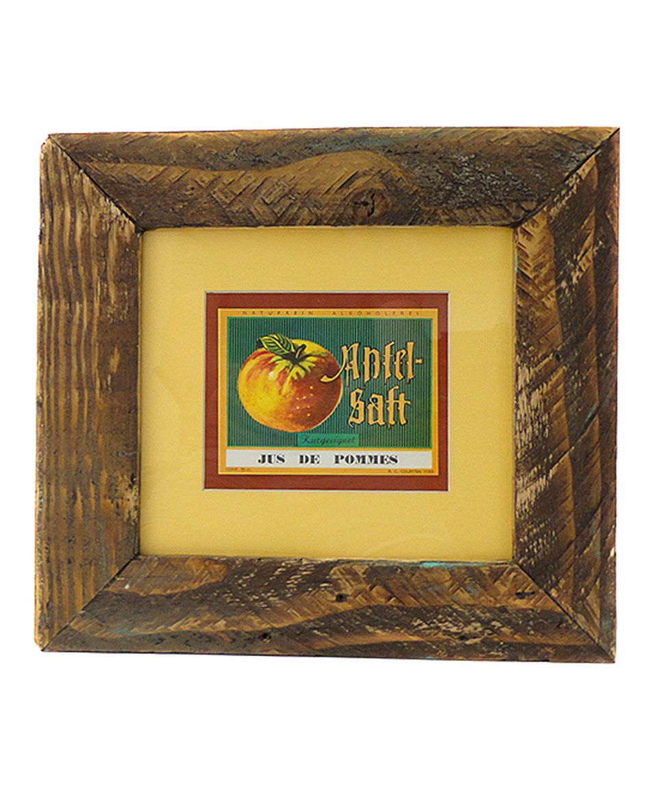 Look what I found on #zulily! Framed \'Jus de Pommes\' Wall Art by ...
