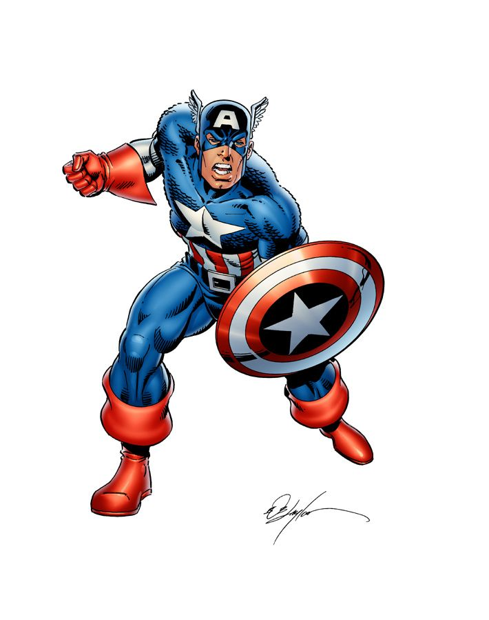 captain america colors for hasbro by sorah suhng on deviantart