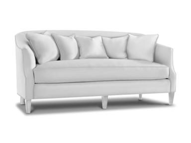 For Sherrill Sofa 2251 And Other Living Room Sofas At Custom Home Furniture Galleries In Wilmington Nc Shown With Contrasting Toss Pillows