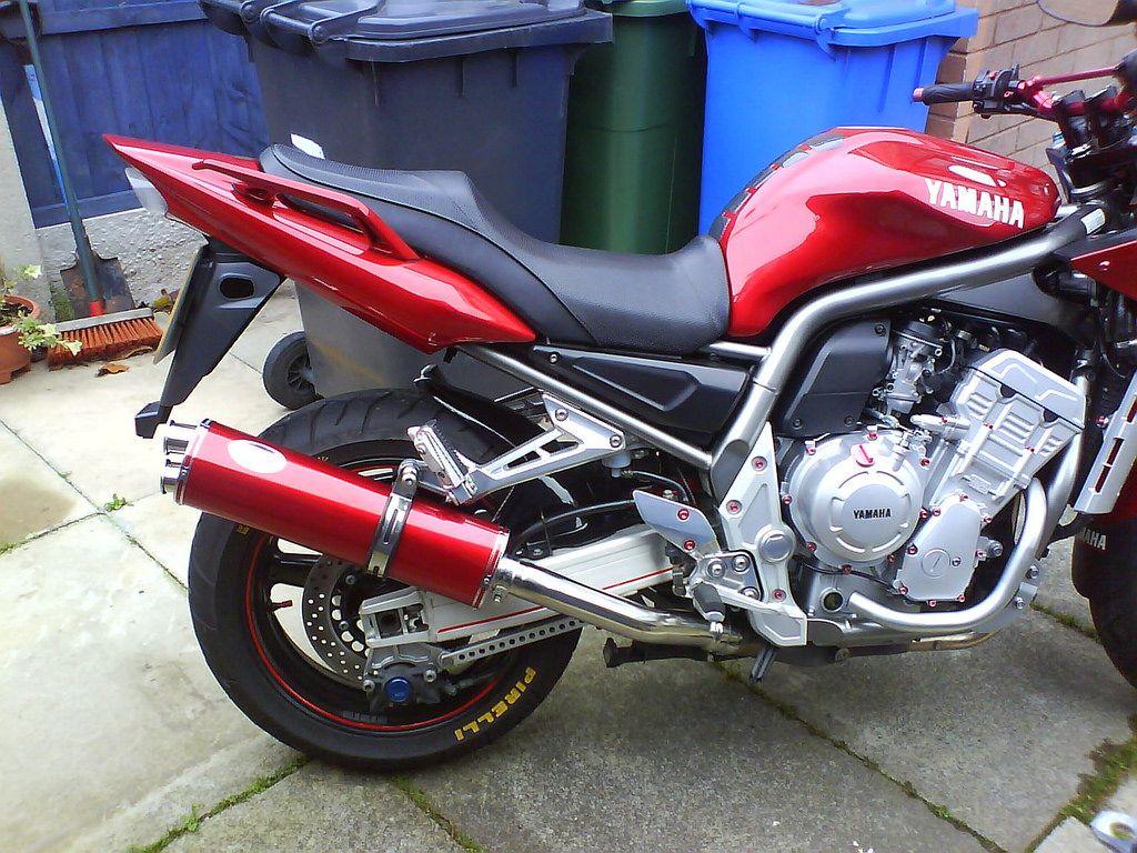 Muffler YAMAHA YZF1000 R1 5PW 2002-03/' Stainless Motorbike Performance Exhaust