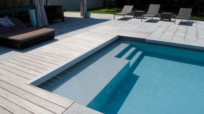 Zoom sur les piscines en béton Swimming pools and Jacuzzi