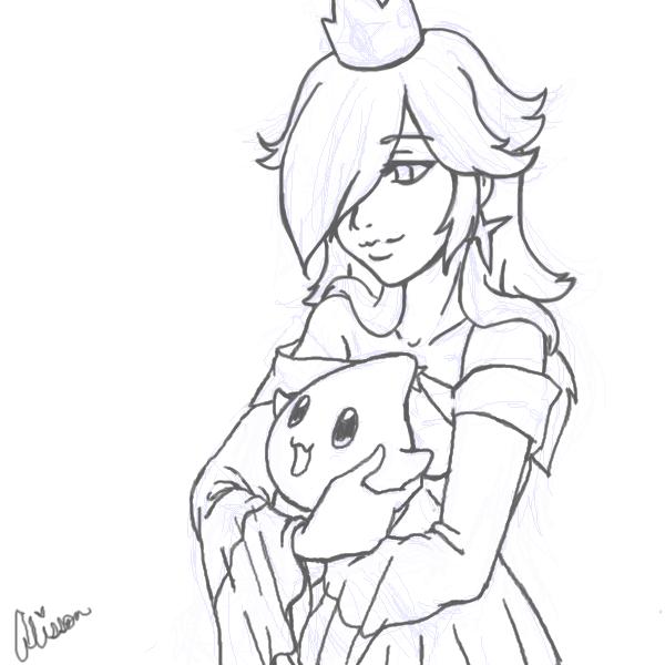 Princess Rosalina WIP by ~AliPwnzJoo on deviantART | Other Fan Art ...