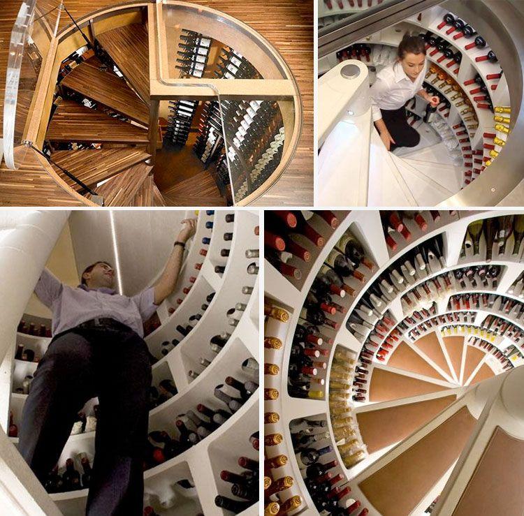 Spiral Wine Cellar An Underground Cellar For Your Wines Home