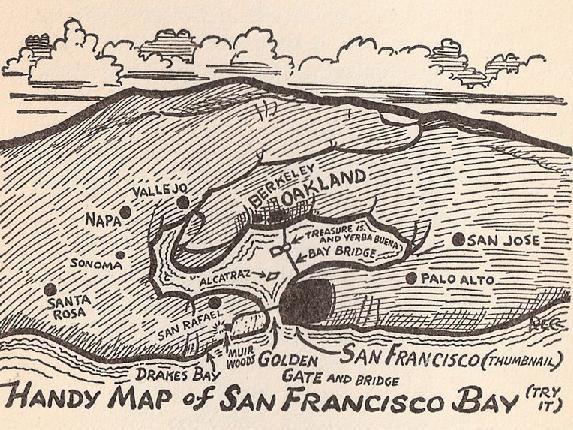 handymapwithoakland  Map it Out  Pinterest  Area map Bay