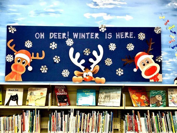 10 Winter Themed Bulletin Board Ideas #decemberbulletinboards
