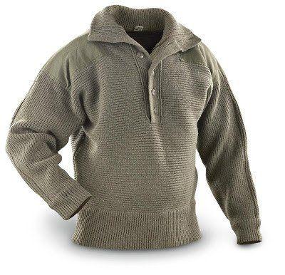 Dachstein Woolwear 100 Merino Wool Austrian Military Pullover