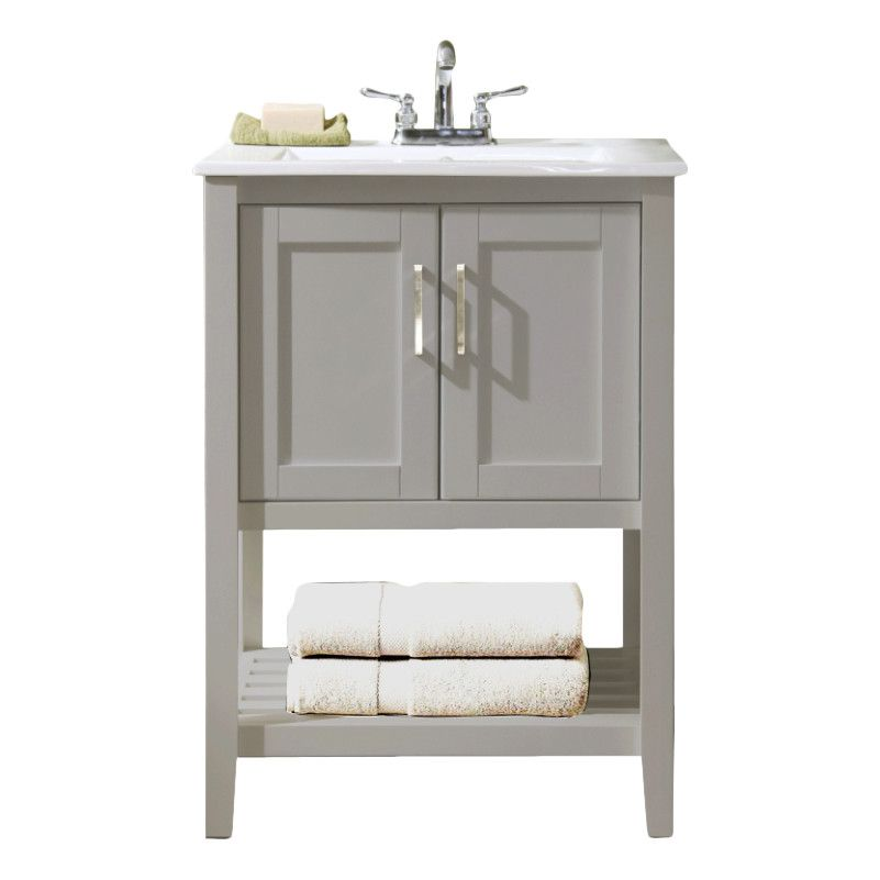 VANITY SIZEMASTER BATH Wayfair Legion Furniture Single - 24 bathroom vanity with drawers for bathroom decor ideas