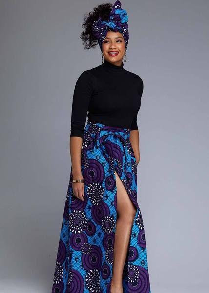 African Print Skirts