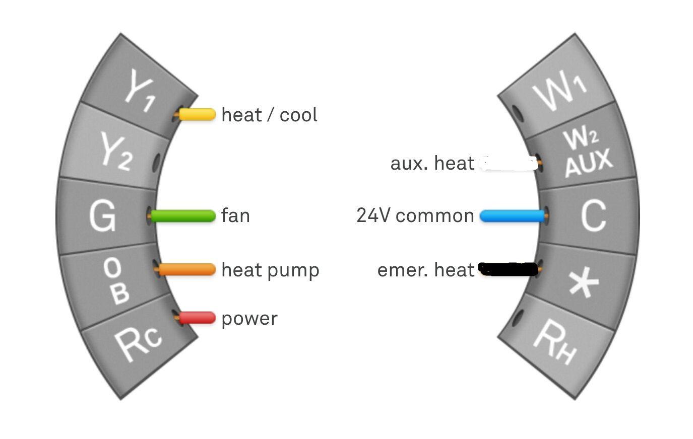 Nest Thermostat and Heat Pumps w/ Aux Heat pump, Nest
