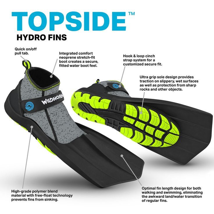 Topside Hydro Fins  Wildhorn Outfitters  - Swim Flippers - Ideas of Swim Flippers #SwimFlippers