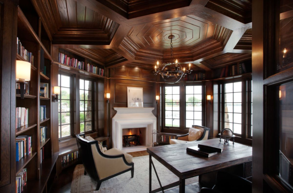 How To Successfully Integrate A Coffered Ceiling Into A Room S