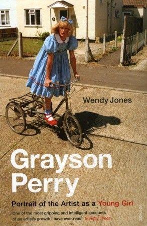 Biografien om Grayson Perry, kunstner, keramiker for det meste. Liker å kle seg i kvinneklær selv om han er mann.