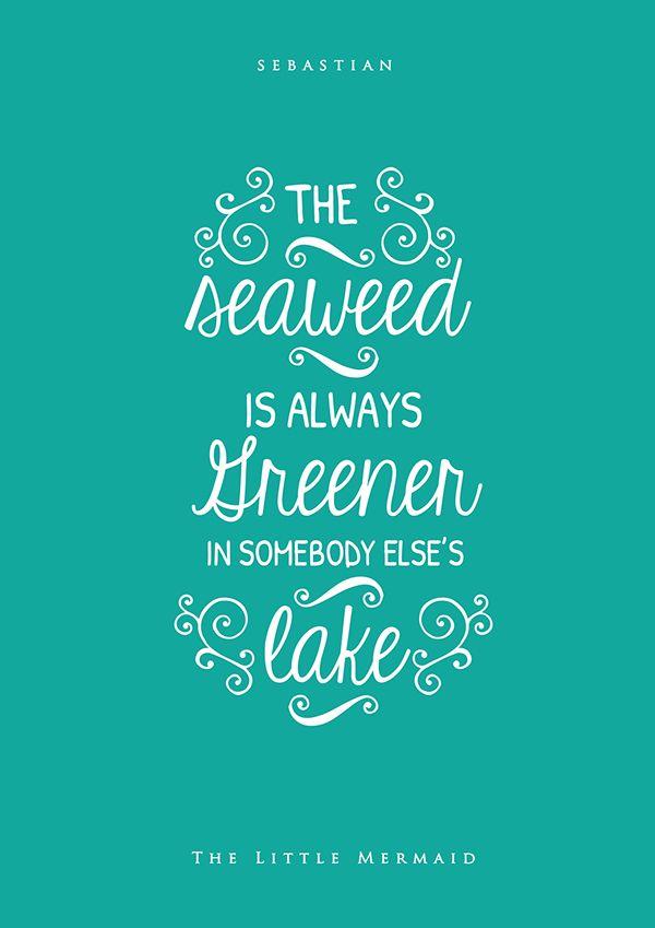 Sebastian ️ Disney movie quotes, Disney quotes, Little