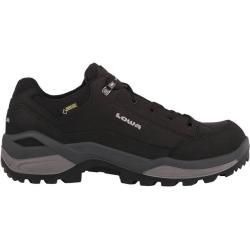 Photo of Lowa men's lightweight hiking shoes Renegade Gtx Lo, size 43 ½ in black / graphite, size 43 ½ in Schwa