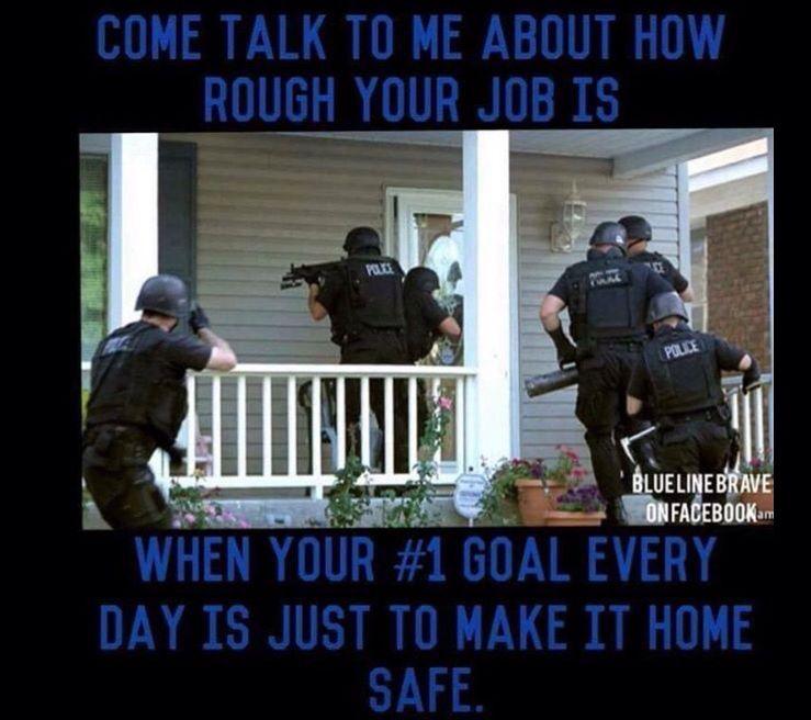 Everyone goes Home Police, Police humor, Cops humor