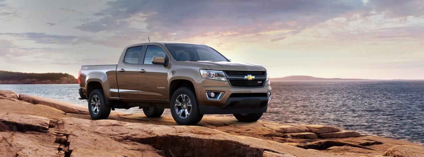 Exterior View For Brownstone Metallic Chevy Colorado 2015 Chevy
