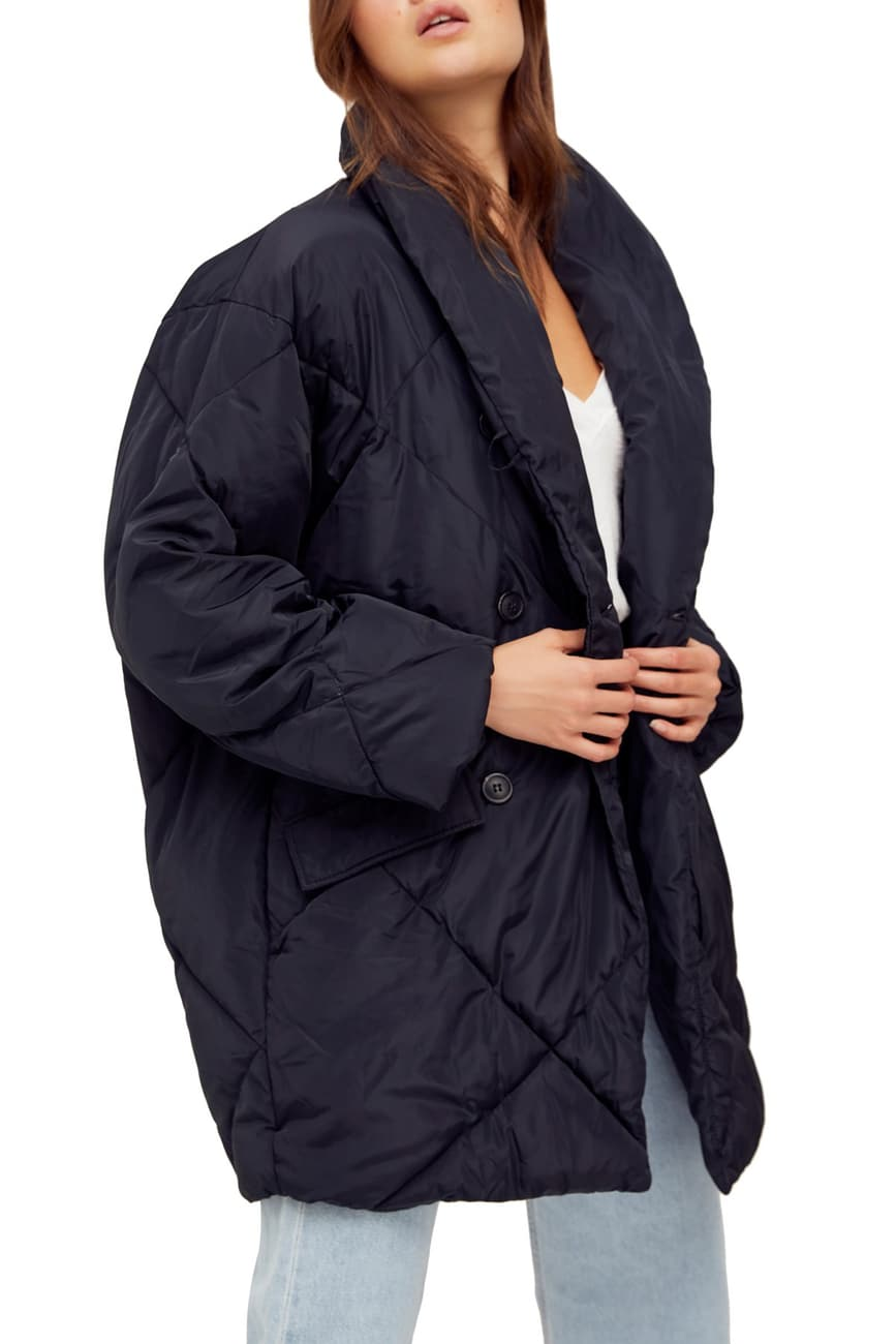 Free People Ella Longline Puffer Jacket Nordstrom Rack In 2021 Puffer Jackets Jackets Puffer Coat [ 1300 x 867 Pixel ]