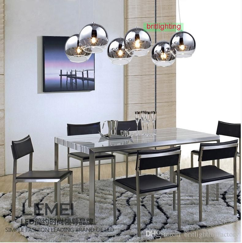 Dining Room Contemporary Pendant Lighting For