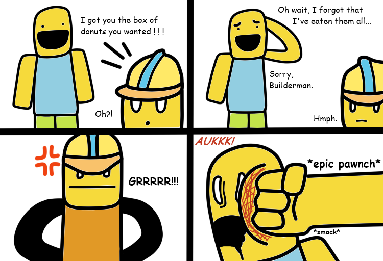 beed9411ae7da ROBLOX  Builderman and the Delivery Noob by DrAwInG-CrAzYH3xD on ...