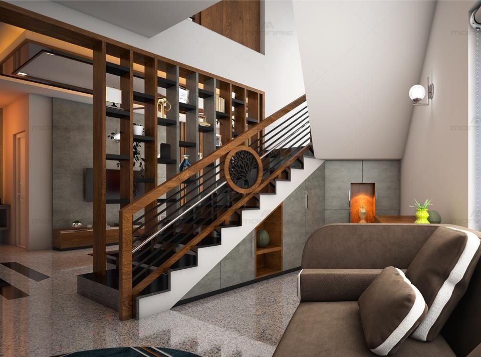 Elegant Functional Staircase Staircase Design Modern Duplex